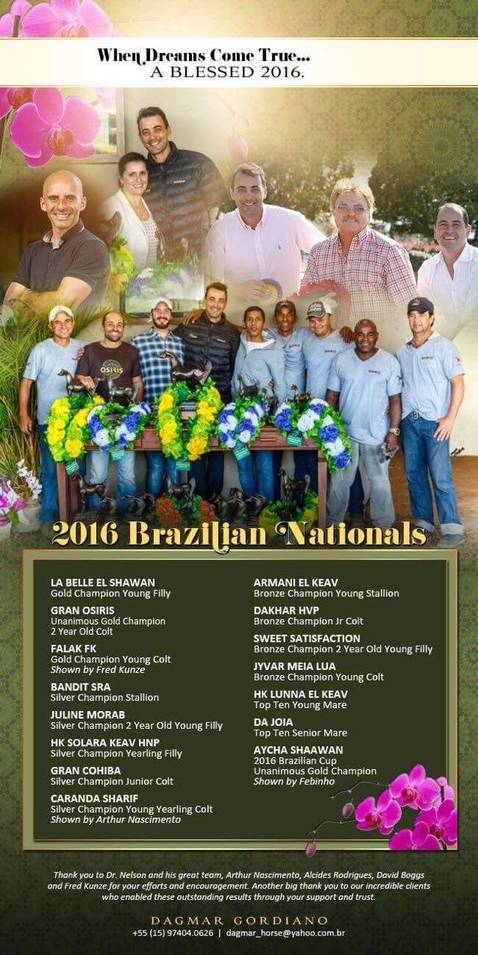 2016 Brazilian National Show
