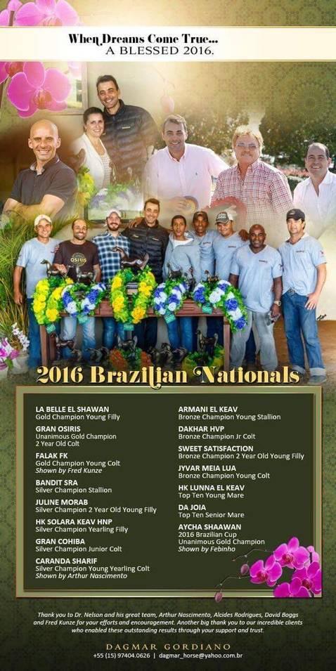 2016 Brazilian National Show
