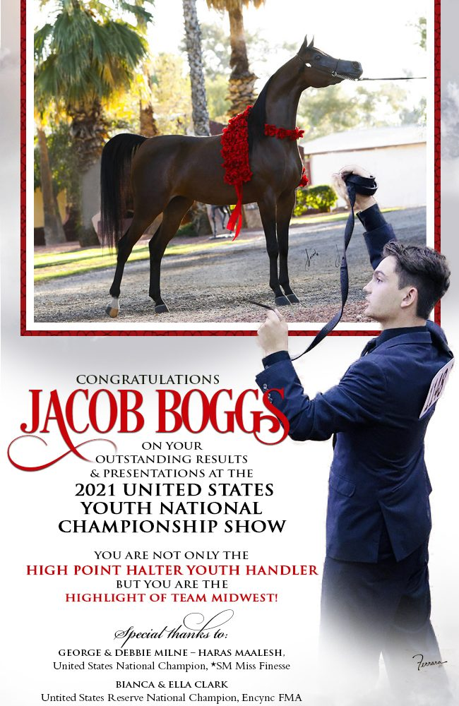 Special Thanks From Jacob Boggs