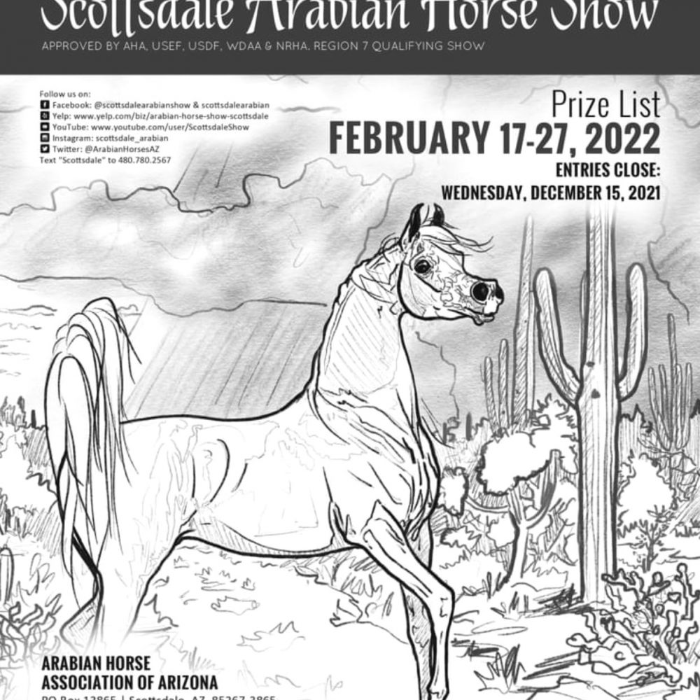 2022 Scottsdale Arabian Show